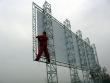 Konstrukcja reklamowa 12,15 x 3,15 m